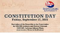 Constitution Day - Reading of the Preamble